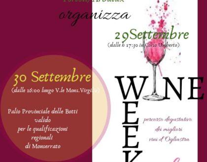 Tortolì Wine Week!