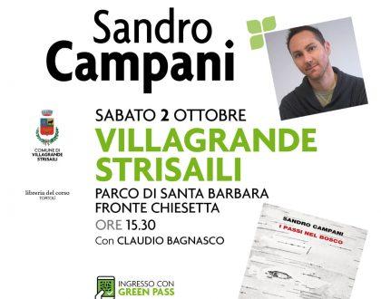 """Sabato 2 ottobre: """"I passi nel bosco"""" (di Villagrande)"""